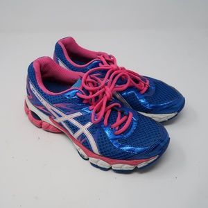 Womens Blue Pink Gel-Flux 2 Asics Size 8